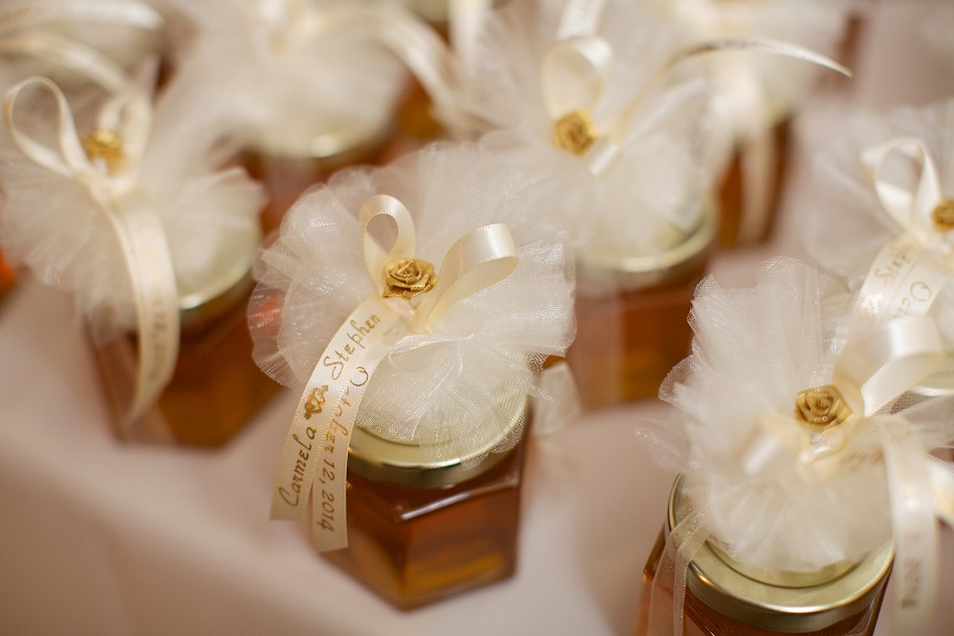 Carmela Stephens Honey Wedding Favors Story