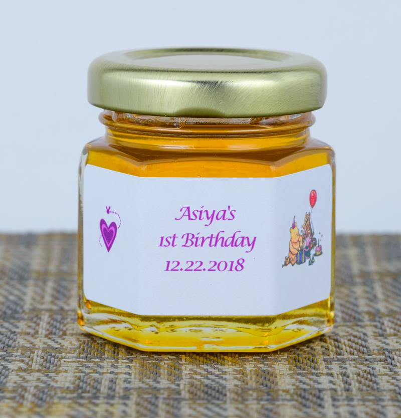 Unique 1st Birthday Honey Jar Favor