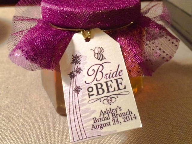 Cap fabric cover Homemade DIY Honey Jar Wedding Favor Idea
