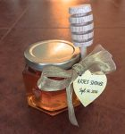 Bridal Shower Favor with Heart Tag