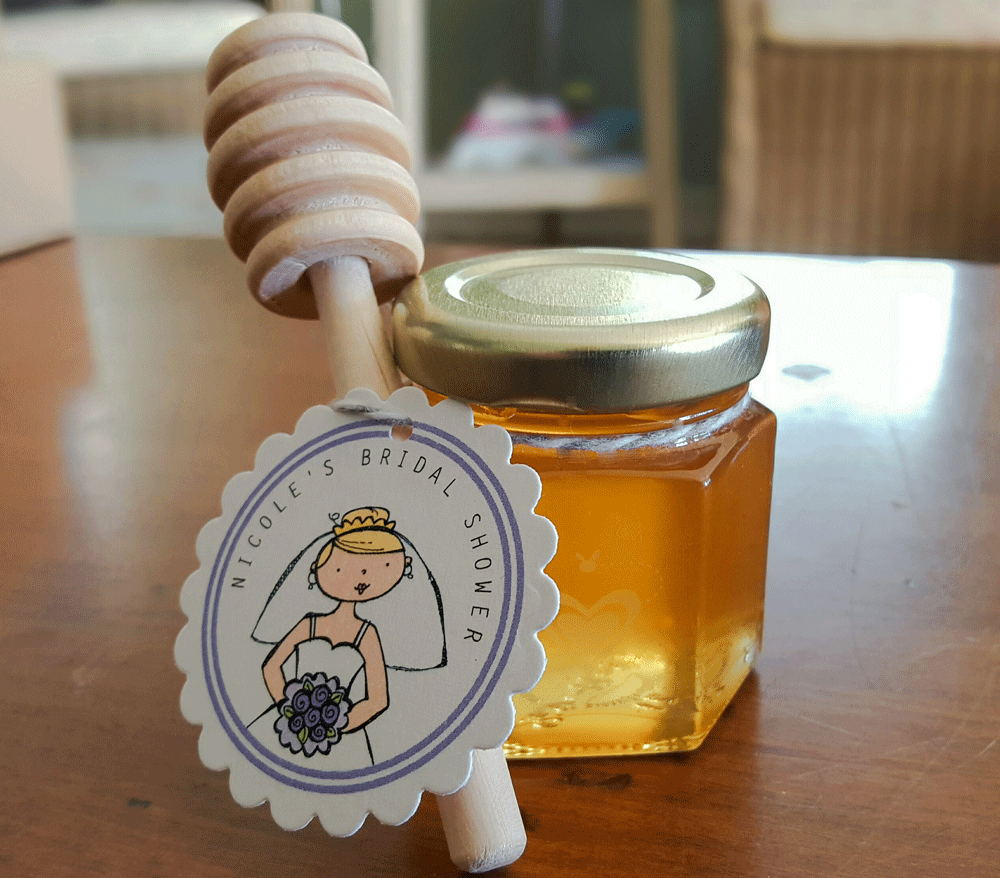 Diy Honey Jar Wedding Favor Ideas 5