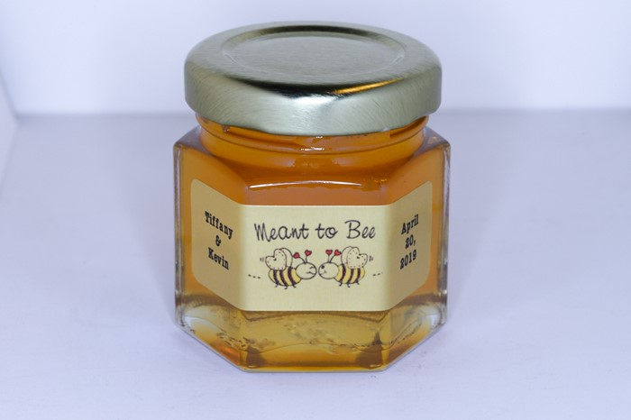 Meant to Bee Unique Honey Jar Favor