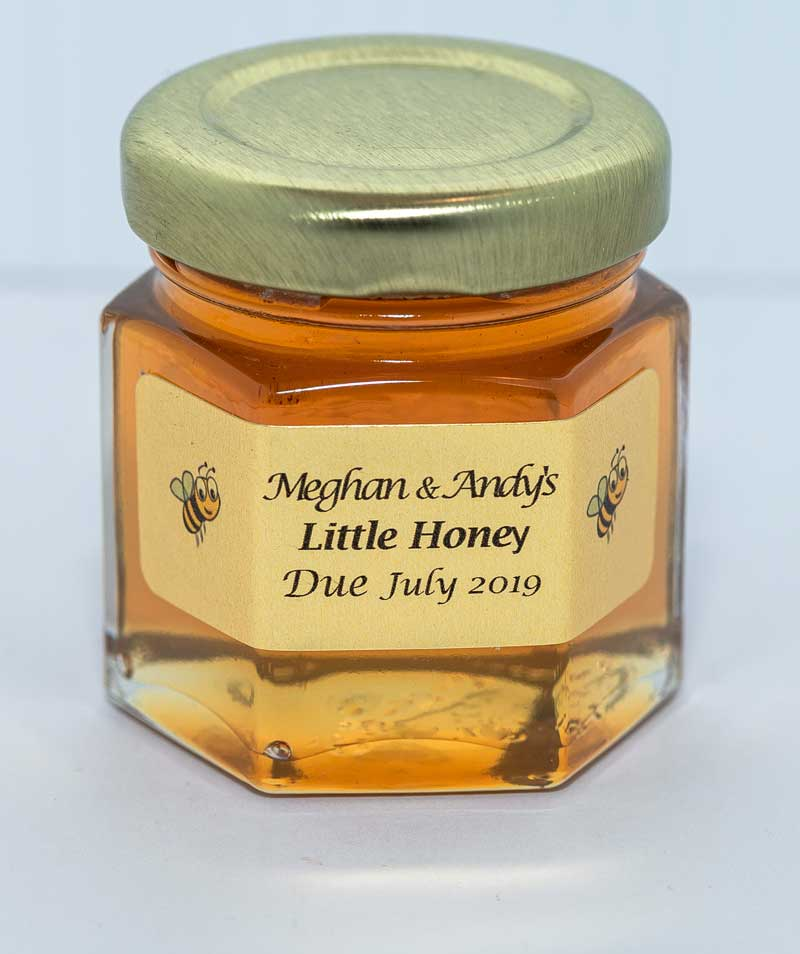 Unique Little Honey Jar 2oz. Favor