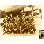 Dad's B-17 crew picture and POW picture