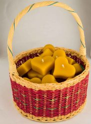 Beeswax-Floating-Hearts-in-a-basket