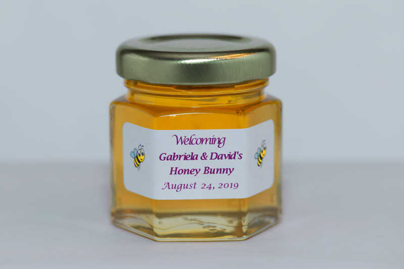 Unique 2oz. Baby Shower Honey Jar Favor