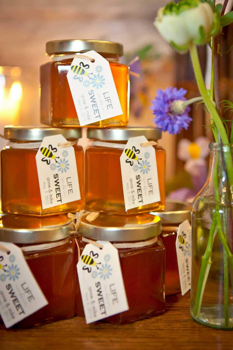 Wedding Favor Honey Tags : Wedding Favor Tags that make the difference