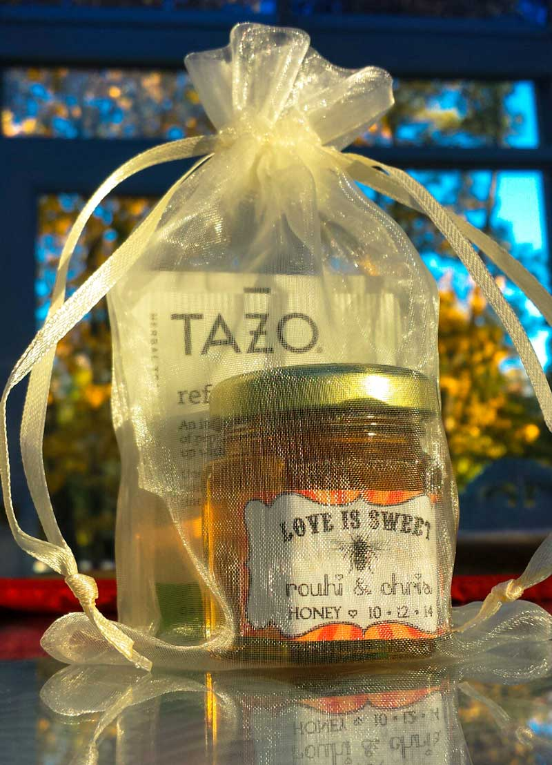 diy honey jar wedding favor ideas #7