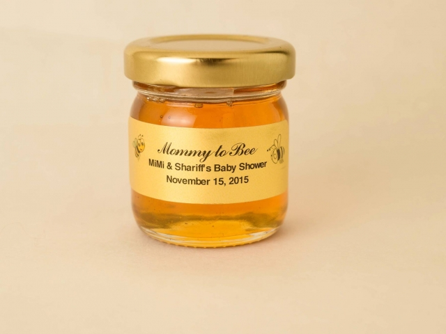 Mommy to Bee Honey Jar Party Favor
