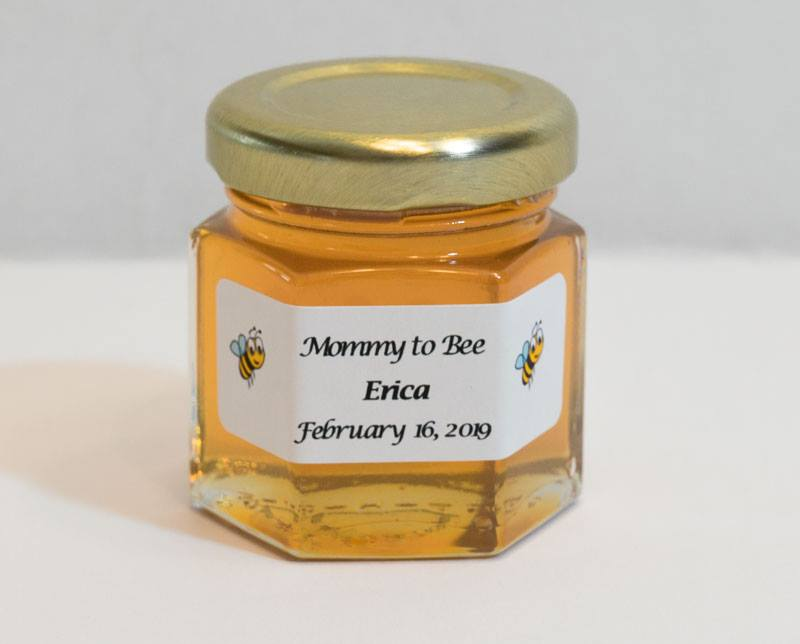 Unique Mommy to Bee Honey Jar Favor