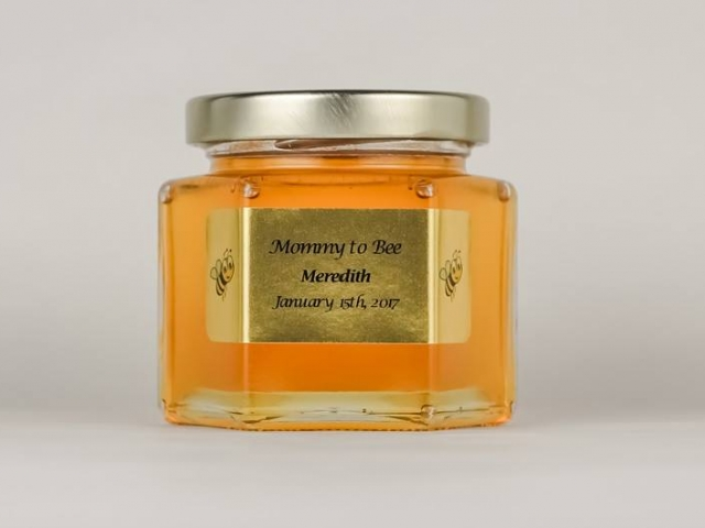 6oz. Mommy to Bee Honey Jar Party Favor