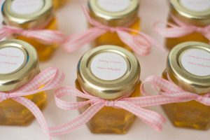 Round Favor Labels with Nothing-Sweeter-than-a-Baby-Girl
