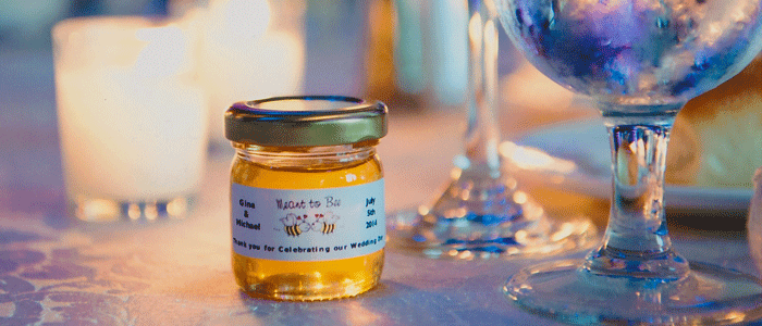 Meant to Bee mini Unique Honey Jar Favors