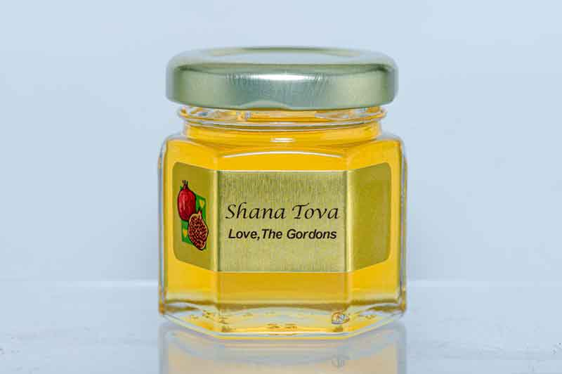 Unique Rosh Hashana 2oz. Honey Favor
