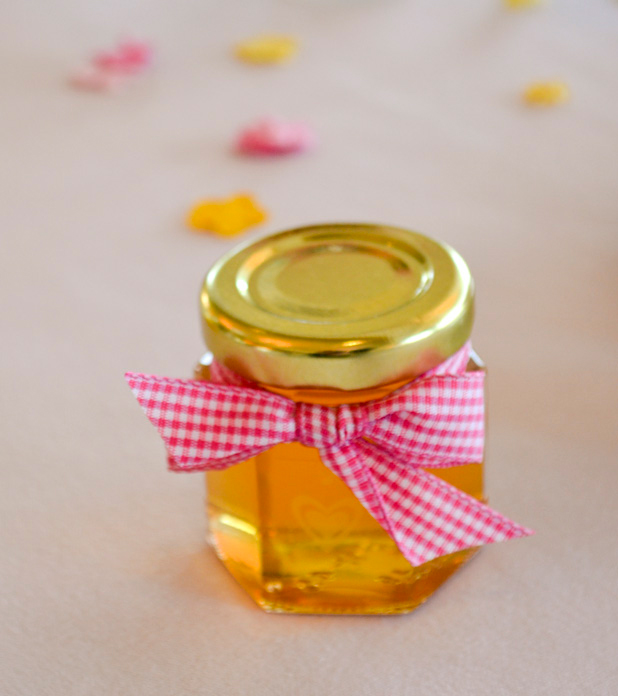 diy honey jar wedding favor ideas #4