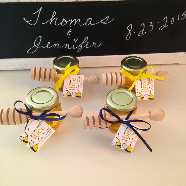 2oz. Honey Jar Wedding Favor