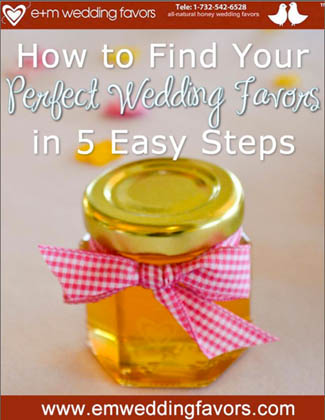 How to Find Your Perfect Wedding Favor Guide